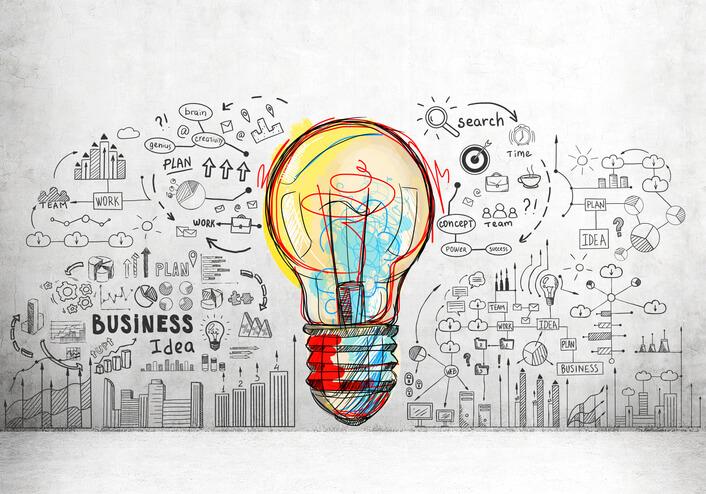 a ideia de um negócio
