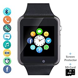 Smartwatch compatível com Android, Samsung, Huawei e iPhone da AMAZQI