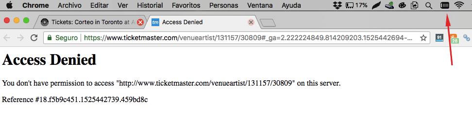 VPN Apagado