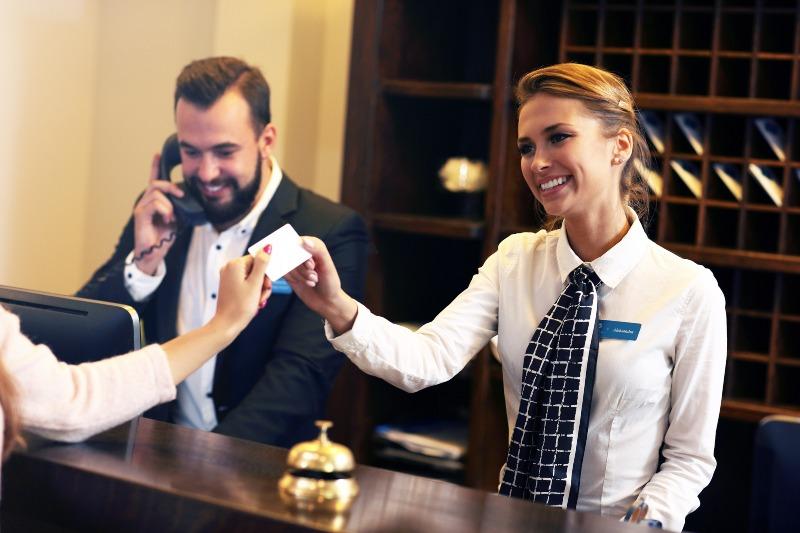 gestão hoteleira