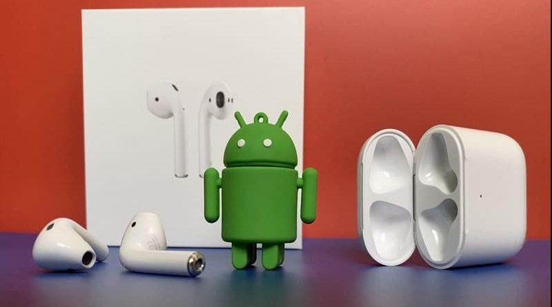 como conectar airpods no android