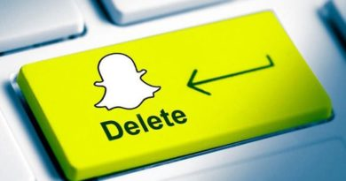 como excluir a conta no snapchat
